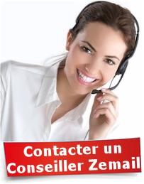 Contacter un conseiller Zemail