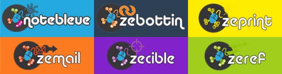 Toutes Nos marques : Zecible, Zemail, Zebottin, Zeprint, Zeref, Zebuzz