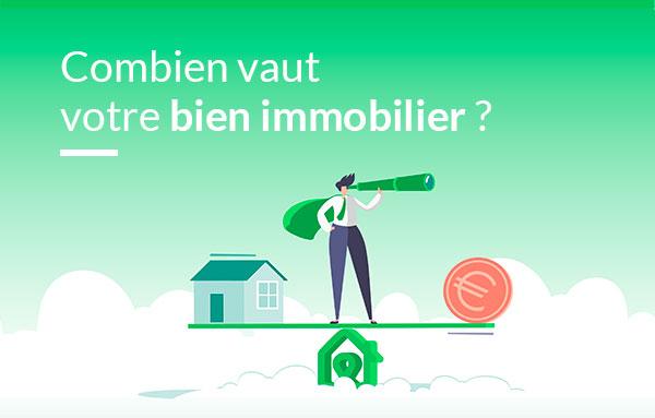 votre estimation immobilière sur Drimki