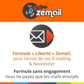 """Envoi Autonome d'Emailing 24h/24 - """"Formule Liberté"""""""